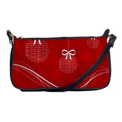 Simple Merry Christmas Shoulder Clutch Bags