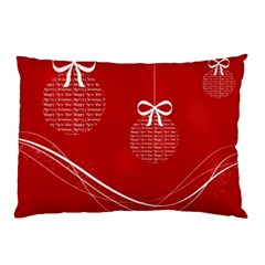 Simple Merry Christmas Pillow Case (Two Sides)
