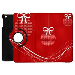 Simple Merry Christmas Apple iPad Mini Flip 360 Case