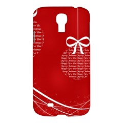 Simple Merry Christmas Samsung Galaxy S4 I9500/I9505 Hardshell Case