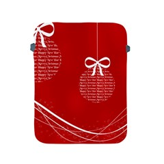 Simple Merry Christmas Apple iPad 2/3/4 Protective Soft Cases