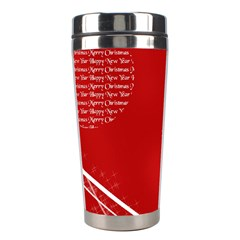 Simple Merry Christmas Stainless Steel Travel Tumblers