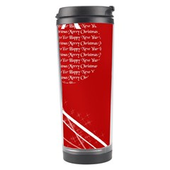 Simple Merry Christmas Travel Tumbler