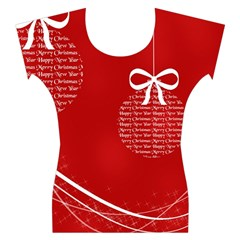 Simple Merry Christmas Women s Cap Sleeve Top