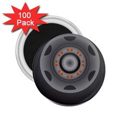 Tire Tyre Car Transport Wheel 2.25  Magnets (100 pack)