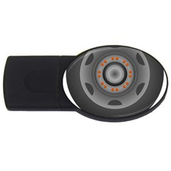 Tire Tyre Car Transport Wheel USB Flash Drive Oval (1 GB)