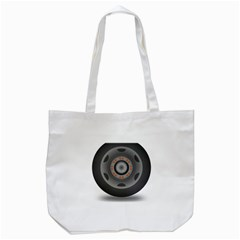 Tire Tyre Car Transport Wheel Tote Bag (White)