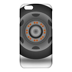 Tire Tyre Car Transport Wheel iPhone 6/6S TPU Case