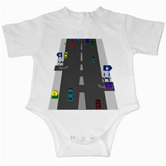 Traffic Road Driving Cars Highway Infant Creepers