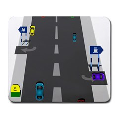 Traffic Road Driving Cars Highway Large Mousepads