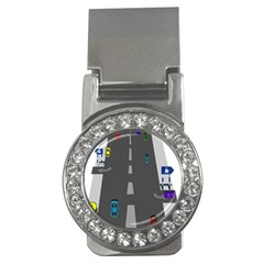 Traffic Road Driving Cars Highway Money Clips (CZ)