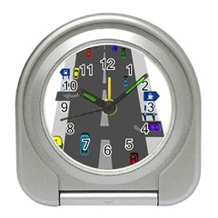 Traffic Road Driving Cars Highway Travel Alarm Clocks