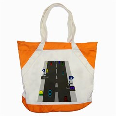 Traffic Road Driving Cars Highway Accent Tote Bag