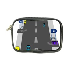 Traffic Road Driving Cars Highway Coin Purse