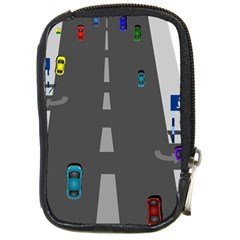 Traffic Road Driving Cars Highway Compact Camera Cases
