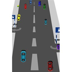 Traffic Road Driving Cars Highway 5.5  x 8.5  Notebooks