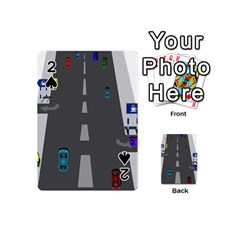 Traffic Road Driving Cars Highway Playing Cards 54 (Mini)