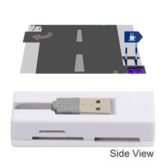 Traffic Road Driving Cars Highway Memory Card Reader (Stick)