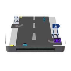 Traffic Road Driving Cars Highway Memory Card Reader with CF