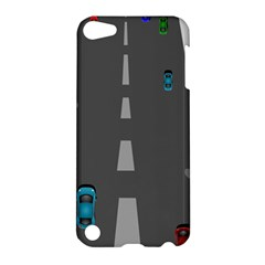 Traffic Road Driving Cars Highway Apple iPod Touch 5 Hardshell Case