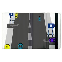 Traffic Road Driving Cars Highway Apple iPad 2 Flip Case