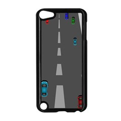 Traffic Road Driving Cars Highway Apple iPod Touch 5 Case (Black)
