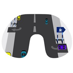 Traffic Road Driving Cars Highway Travel Neck Pillows
