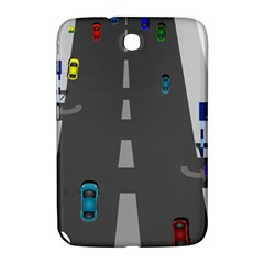 Traffic Road Driving Cars Highway Samsung Galaxy Note 8.0 N5100 Hardshell Case