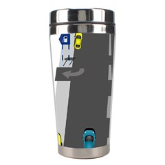 Traffic Road Driving Cars Highway Stainless Steel Travel Tumblers
