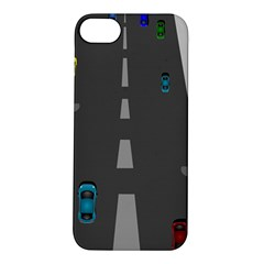 Traffic Road Driving Cars Highway Apple iPhone 5S/ SE Hardshell Case
