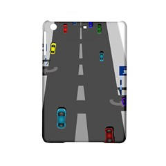 Traffic Road Driving Cars Highway iPad Mini 2 Hardshell Cases
