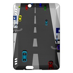 Traffic Road Driving Cars Highway Kindle Fire HDX Hardshell Case