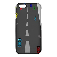 Traffic Road Driving Cars Highway iPhone 6/6S TPU Case
