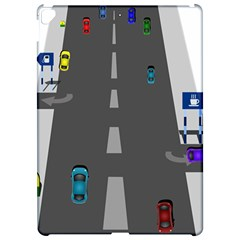 Traffic Road Driving Cars Highway Apple iPad Pro 12.9   Hardshell Case