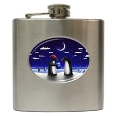 Small Gift For Xmas Christmas Hip Flask (6 oz)