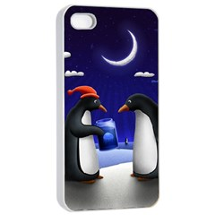 Small Gift For Xmas Christmas Apple iPhone 4/4s Seamless Case (White)