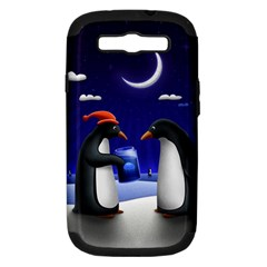 Small Gift For Xmas Christmas Samsung Galaxy S III Hardshell Case (PC+Silicone)