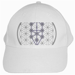 Tree Of Life Flower Of Life Stage White Cap
