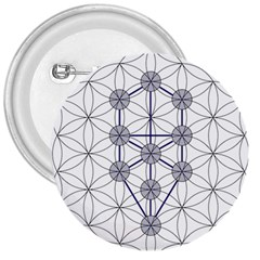 Tree Of Life Flower Of Life Stage 3  Buttons