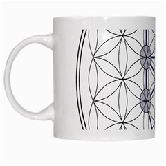 Tree Of Life Flower Of Life Stage White Mugs