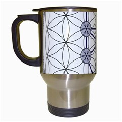 Tree Of Life Flower Of Life Stage Travel Mugs (White)