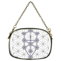 Tree Of Life Flower Of Life Stage Chain Purses (One Side)