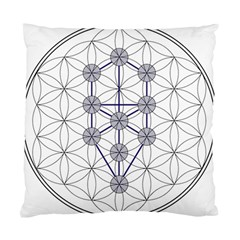 Tree Of Life Flower Of Life Stage Standard Cushion Case (One Side)