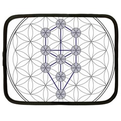 Tree Of Life Flower Of Life Stage Netbook Case (XL)