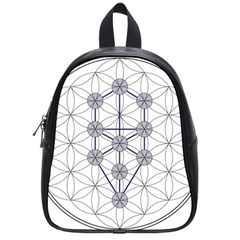 Tree Of Life Flower Of Life Stage School Bags (Small)