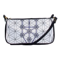 Tree Of Life Flower Of Life Stage Shoulder Clutch Bags