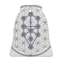 Tree Of Life Flower Of Life Stage Ornament (Bell)
