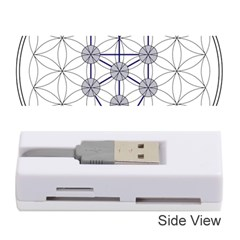 Tree Of Life Flower Of Life Stage Memory Card Reader (Stick)