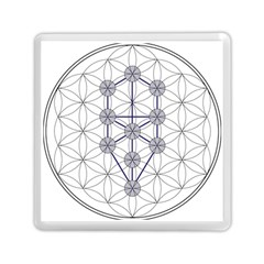 Tree Of Life Flower Of Life Stage Memory Card Reader (Square)