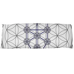 Tree Of Life Flower Of Life Stage Body Pillow Case Dakimakura (Two Sides)